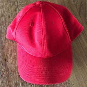 Topshop red baseball cap